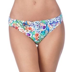 La Blanca Blue Eden Hipster Bikini Bottoms